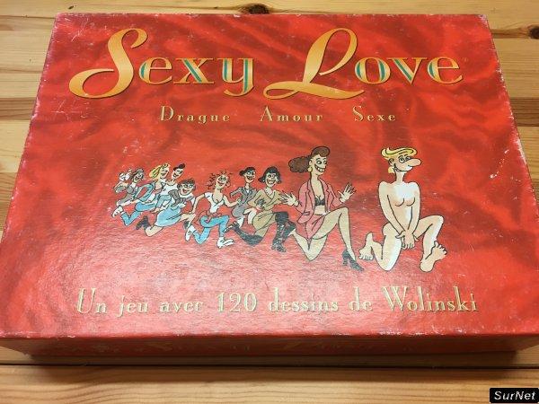 Sexy love - jeux de société